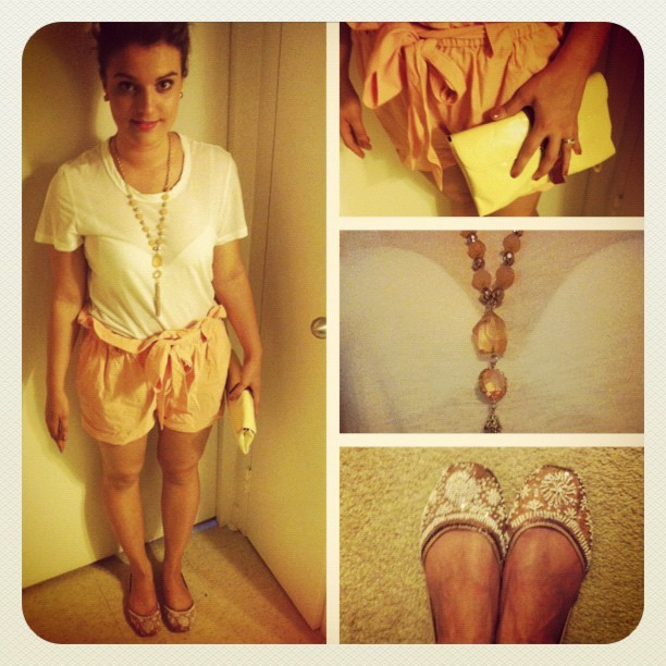 #ootd #fashiondiaries #jamesperseT @madaboutstyle #shorts (Taken with Instagram)