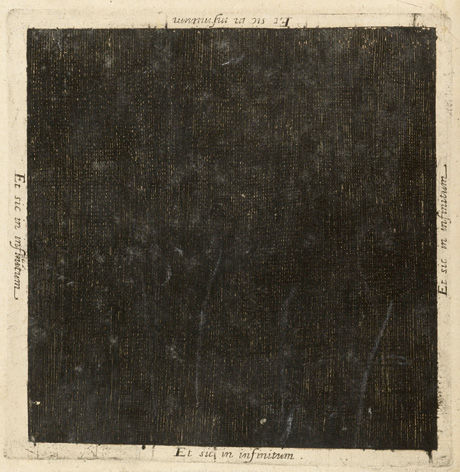 mythologyofblue:  Robert Fludd, the darkness before the light was, from The Macrocosm, 1617-1618