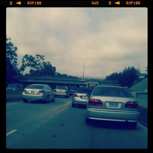 hayla #traffic on the 10 (Taken with Instagram)