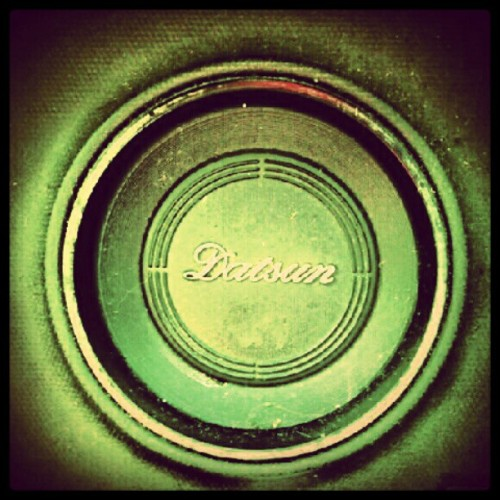 onlypinkthings:  My precious…. #Datsun (Taken with Instagram)