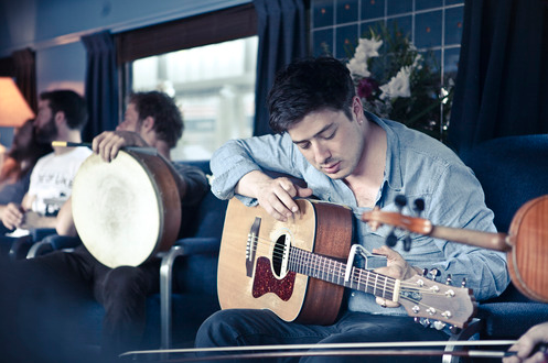 Marcus Mumford during the Railroad Revival Tour 2011