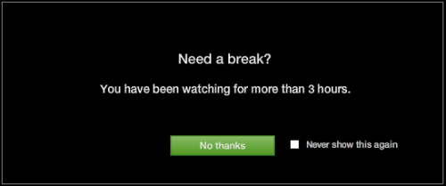 hulu:  camelot-tis-a-silly-place:  No Hulu, I am fine with my life choices!  Oh! We didn't realize you were watching Community. In that case, carry on!