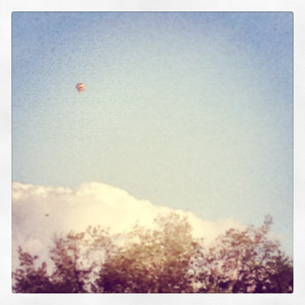 Hot air balloon (Taken with Instagram)