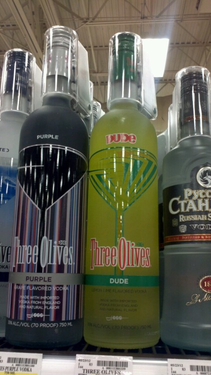"""Dude"" flavored vodka. Hmm."