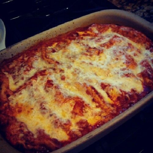 i like cooking. #lasagna #food (Taken with Instagram)