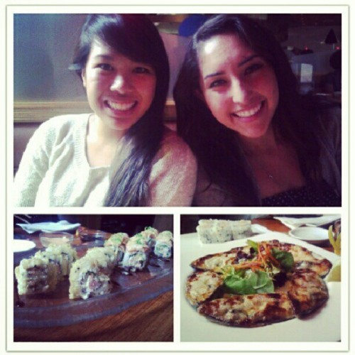 Kabuki with some cuties. @tianevyvu #bakedmussels #alaskanroll #kabuki (Taken with Instagram)