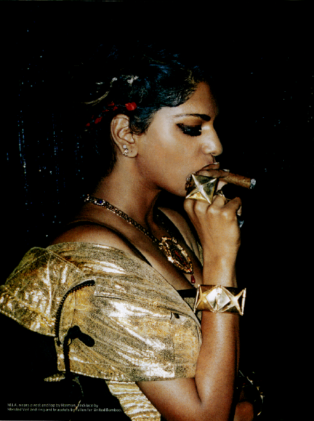 lalunafemme:  motherfuckinghipstershit:  M.I.A. shot by Cass Bird