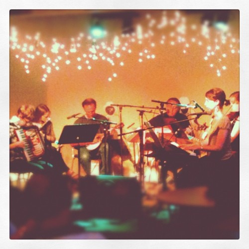 Jim Ware & the Celtic Mountain String Band 🍀 (Taken with Instagram at 225 Coffee)