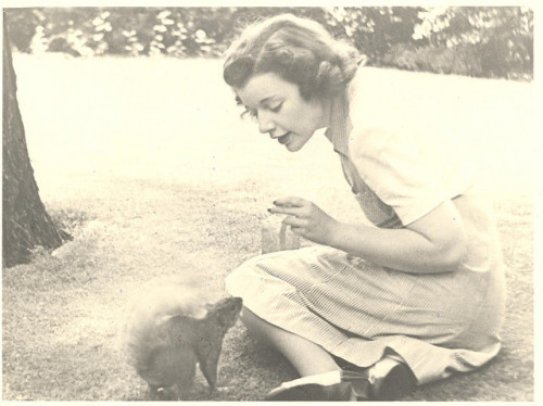 Opera-Singer-Society-Lady Hypnotizes A Squirrel by mrwaterslide on Flickr.