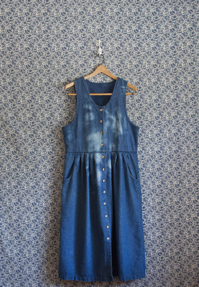 The April Denim Dress