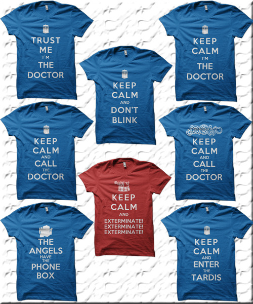 Keep Calm Doctor Who Designs - by Royal Bros Art T-Shirts, Posters, Stickers & iPhone Cases available on RedBubble Artist: || Facebook ||Twitter || Tumblr || Othertees || Qwertee ||