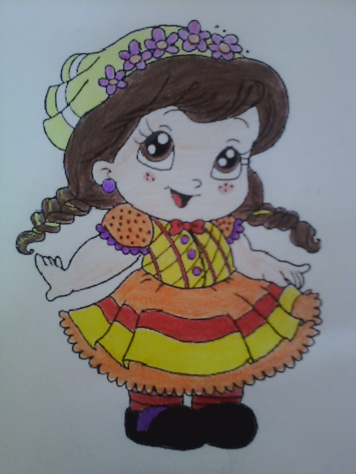 Saint John's Party costume (we call it Festa Junina in portuguese) :)