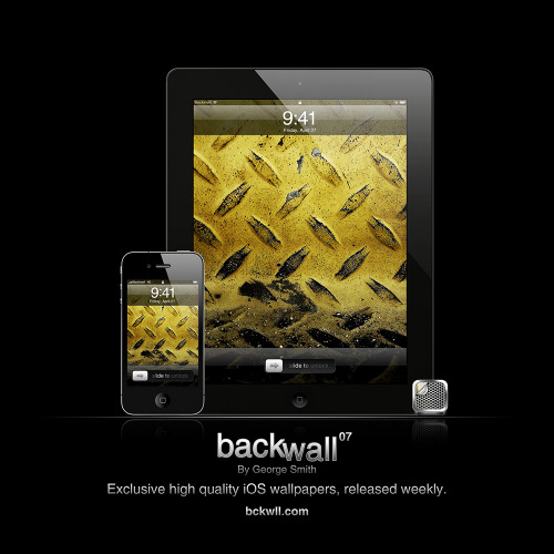 Backwall 07 Retina: iPhone 4S / iPad 3 Standard: iPhone 3GS / iPad 1 & 2 Download all.