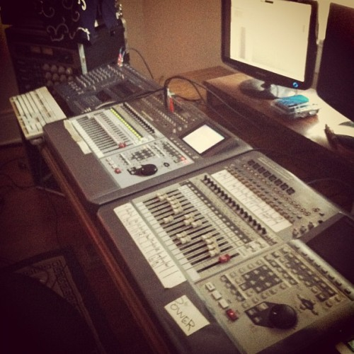 Our album making machinery now up and ready to go (Taken with Instagram)