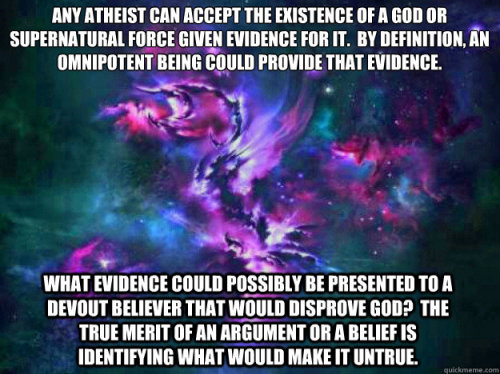 "I am always confused when an atheist is called ""Close Minded"""