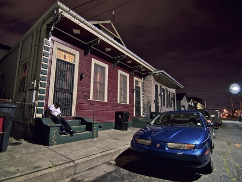 pspo:  Down and out on Piety Street New Orleans, Louisiana Ok, maybe I over-hyped this photo a little bit this morning (I blame it on an excessive amount of caffeine), but the sentiment is the same; I feel like this photo has a story whereas something like this does not. Consider it a work in progress. View it larger here.