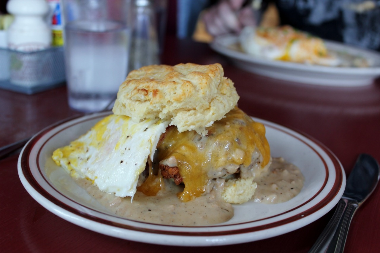 theendoftimetravel:  The Reggie at Pine State Biscuit Company in Portland