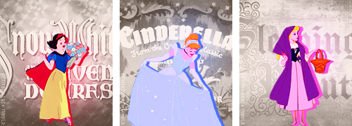 petitetiaras:  Disney's animated princesses: 1937 - 2012