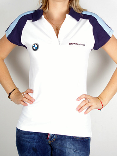 White delight Shirts for ladies from BMW PoloMore photos & another fashion brands: bit.ly/JFh4p9