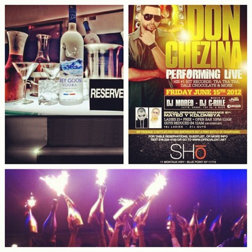 #SHO_ULTRA tonight 🎉🎉! Ladies I want to see ya at that OPEN bar from 10-12 !! Come check me and my 💄SEXY👠 bartenders🍸out! #SHO_ULTRA also has the #BEST bottle prices in LONG ISLAND on #FRIDAY nights check me out as I will be 💋 bottle host ! LADIES💅 #FREE before 12 & GENTS👔 #REDUCED PRICE before 12 (just say #MURDA at the door 😁)  !! So don't miss out #tonight @ #SHO_ULTRA it is going to be CRAZY with @djmorenine @djc_rule 🎶🎤🔊 rocking out one the 1s &2s ! Come join me tonight and SEE #LIVE performance by #DON_CHEZINA you can't miss out #SHO_ULtRA🌊🏄🎥🎬let's goooooo !!  (Taken with Instagram)