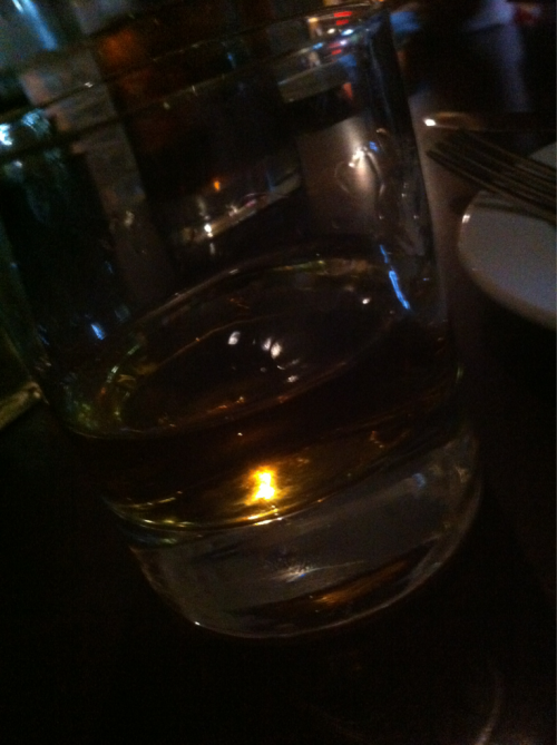 Tonight: Johnnie Walker Red — neat. @ 33 Street Bistro, Sacramento CA.