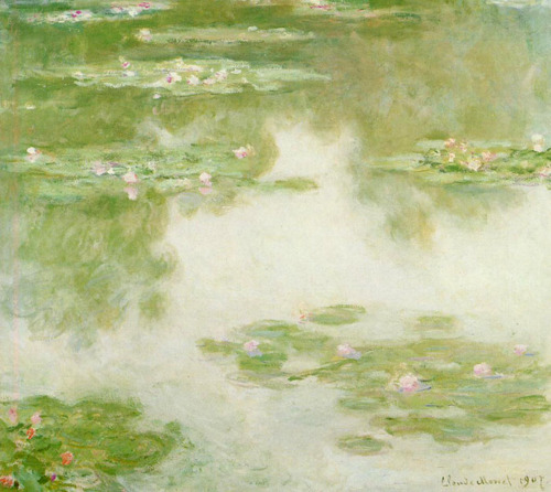 Nympheas, Claude Monet, 1907