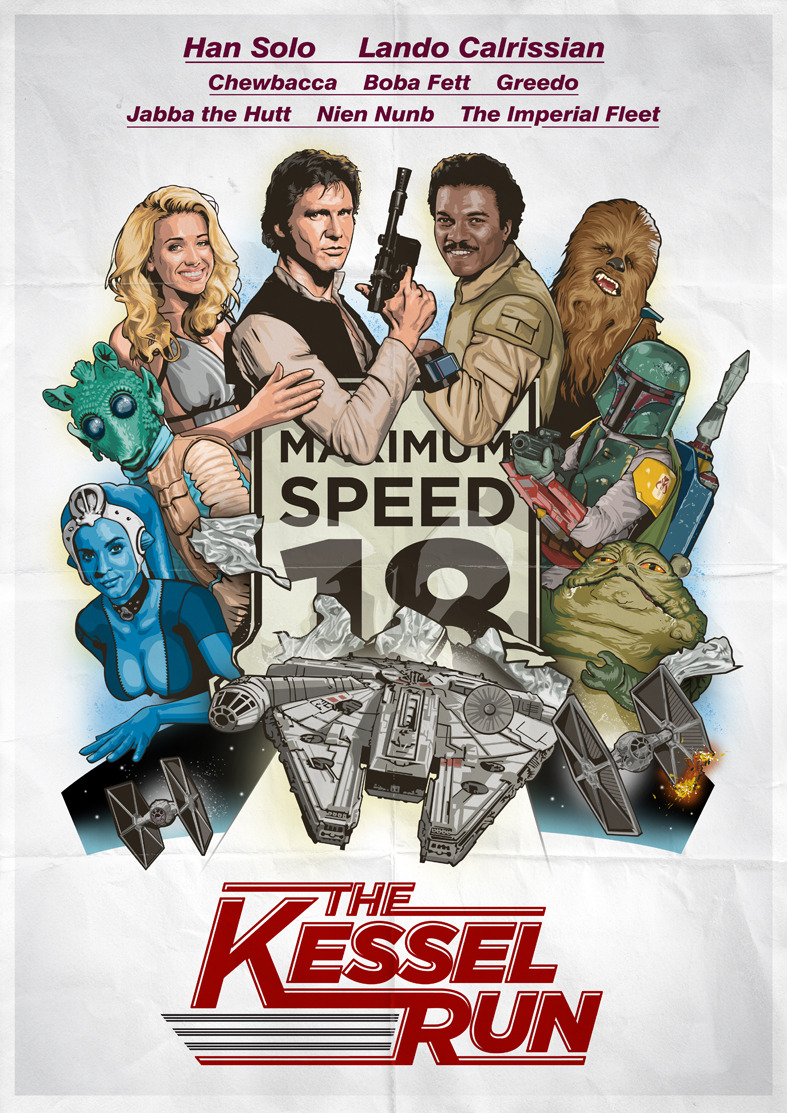 The Kessel Run by *oldredjalopy
