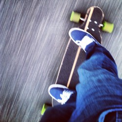 Friday night cruise. #alki #seattle #wa #longboarding (Taken with Instagram)