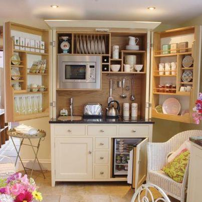 The armoire kitchen
