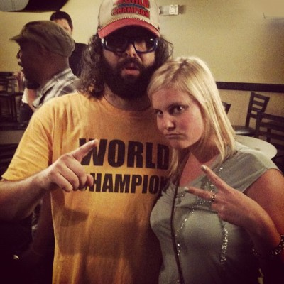 Me and Judah fried lander from 30 rock (Taken with Instagram)