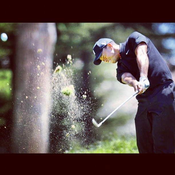 #tigerwoods at #golf #usopen #olympic club #sf #sanfrancisco (Taken with Instagram)