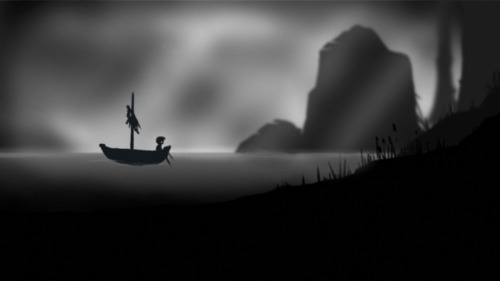 Limbo. Great game.  Special meaning to meGotta play this game again.