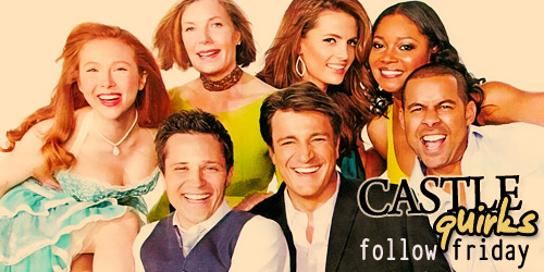 castlequirks:  Have you followed the amazing cast & crew of Castle on Twitter yet? Then here's a list of the people behind the awesome sauce television show: Crew: @Castle_PA, @RedCarpetLuke, @venice4change, @warrenbowman, @CastleArtDept, @robertduncanmx, @MetaV, @Castlegrip, @dlynnrose and @bnwtricia MilMar: @AndrewWMarlowe and @TerriEdda (Let's get Terri to 10,000 followers, yes?) #TheFlawlessCastEver: @NathanFillion, @Stana_Katic, @Jon_Huertas, @SeamusDever, @TamalaJones, @MollyQuinn93 and @btwprod And Mr. Richard Castle himself: @WriteRCastle with the official ABC Twitter account: @Castle_ABC.