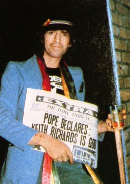 nzafro:  Keith Richards Is God.
