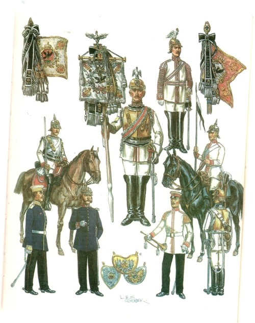 Late 19th century Prussian Cuirassiers