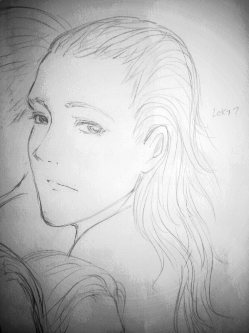 Pretty///// LOKI with long hair^v^