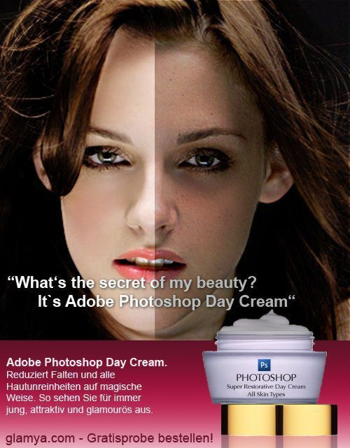 harvestheart:  Photoshop Beauty Cream