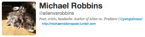 Why does Michael Robbins, poet and youth-loather, have my cat?