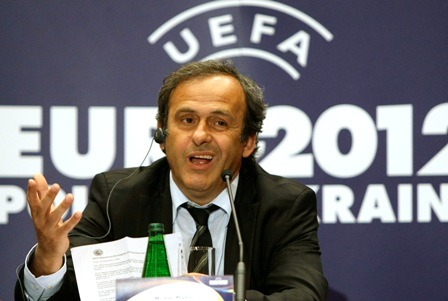 Euro 2012 Tiebreakers: -Of course Platini couldn't stick with the traditional goal differential to decide who advances. Instead he made up some bullshit formula that I'll try to understand and explain. If two teams are tied, the first tiebreaker is their head-to-head record. For example, if Portugal and Denmark are tied, Portugal advances because they beat Denmark. If two teams drew with one another, the next tiebreaker is goal differential. Easy, right? Wait, let's say Portugal loses to Netherlands, Denmark loses to Germany. That will mean the Dutch, Portuguese, and Danish are all tied at 3 points apiece. It creates a mini-league between the three teams. First you look at their head-to-head. Well, each team has beaten one another one time, so toss that out. The next tiebreaker is the goal differential between THE THREE TEAMS TIED IN THEIR MATCHES. That means the Germany fixture means nothing.  Let's say… Holland beats Portugal 1-0. That means the three teams will all have a GD of 0 in the matches between one another. The next tiebreaker is the amount of goals scored in the matches against one another. Portugal scored 3 goals against Denmark, which gives them a significant advantage. It's really confusing and more reason why Michel Platini is a dumbass.