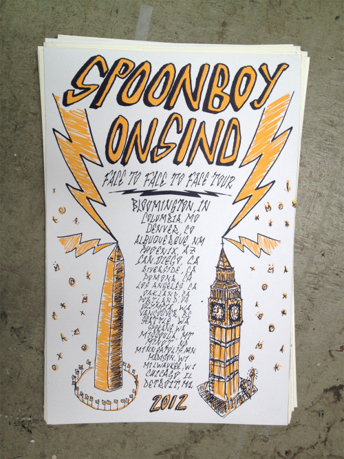 tour posters courtesy of nick popovici!JUNE 22-24 - BLOOMINGTON, IN @ Plan-it-x fest 25 - COLUMBIA, MO @ Hairhole (104 Orr St.) 26 - DENVER, CO @ 2727 W. 27th Ave 27 - ALBUQUERQUE, NM @ The Tan (1415 4th St. NW) 29 - PHOENIX, AZ @ Trunk Space (1506 Grand Avenue) 30 - SAN DIEGO, CA @ Che Cafe (9500 Gilman Drive) JULY 1 - RIVERSIDE, CA (early show!!) @ Blood Orange Infoshop (3485 University Ave.) 1 - POMONA, CA @ VLHS 2 - LOS ANGELES, CA @ 5502 w 96th st 3 - OAKLAND, CA @ Vagabond Ballroom (830 Isabella St.) 4 - OAKLAND, CA @ 3205 Peralta St6 - PORTLAND, OR @ Jurassic Park (5516 N Mississippi) 7 - OLYMPIA, WA @ Labia Minora (1405 8th ave SE)9 - SEATTLE, WA @ Gasworks Park 10 - SPOKANE, WA @ Dirty Yeti House (1607 Main Ave.) 11 - MISSOULA, MT @ Zoo City Apparel (139 East Main St) 12 - MINOT, ND @ Pangea House 13 - MINNEAPOLIS, MN @ The Chamber of Secrets (3500 5th Ave S) 14 - MADISON, WI (early show!!) @ 511 S. Ingersoll St. 14 - MILWAUKEE, WI @ The Nest (2608 N Booth St) 15 - CHICAGO, IL @ 4206 N. Western 16 - DETROIT, MI @ Trumbullplex (4210 Trumbull)