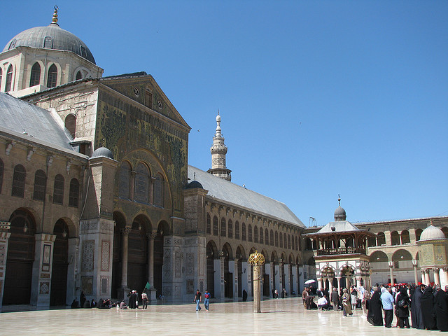 artweeks:  Umayyad Mosque, Damascus, Syria