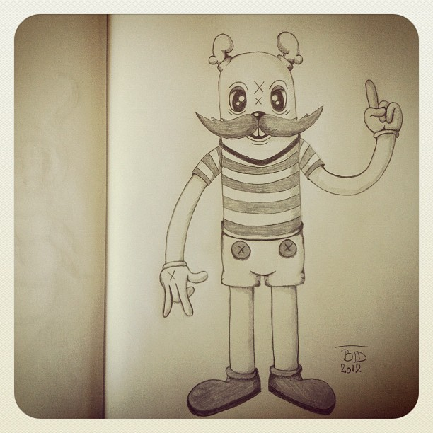 theodoru:  Morning sketch (Taken with Instagram)
