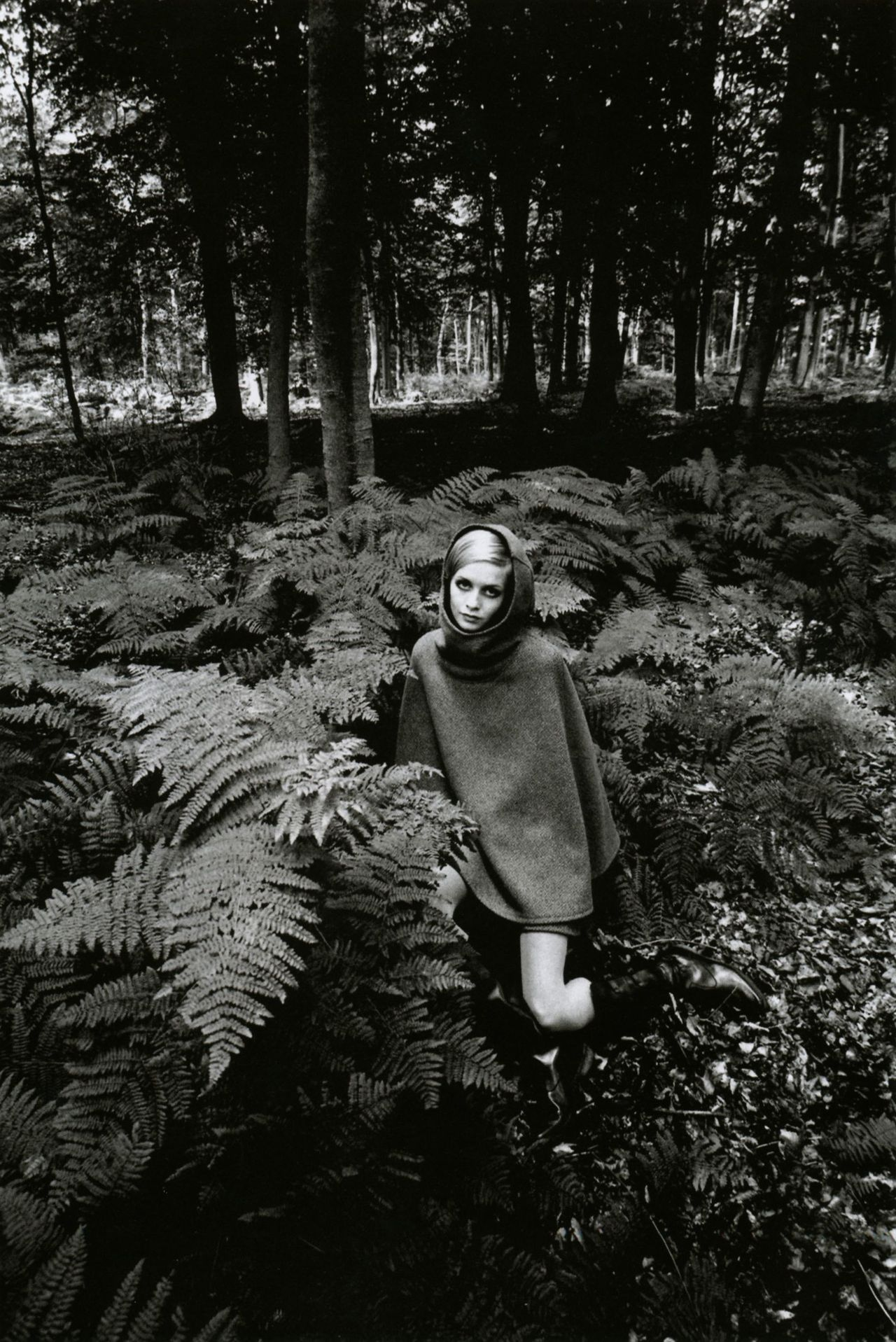 liquidnight:  Jeanloup Sieff Twiggy in the bracken, 1967 From Jeanloup Sieff