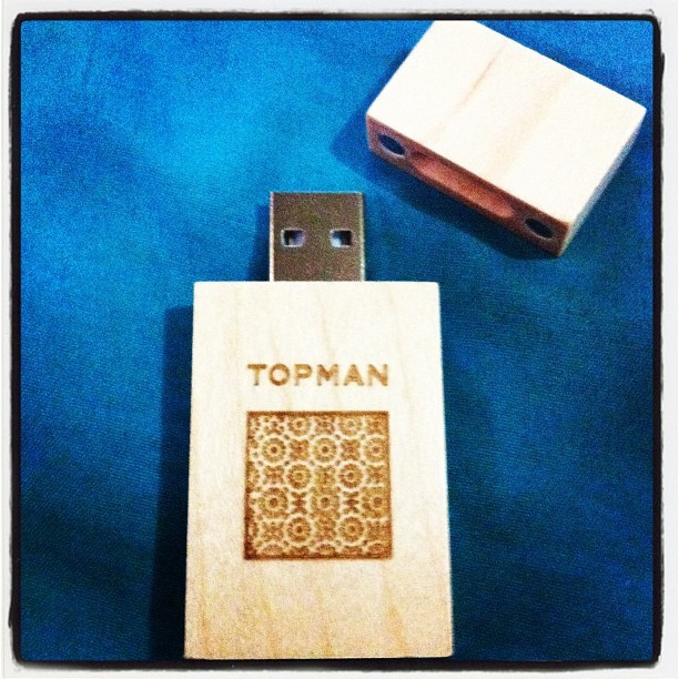 Topman Flash drive (Taken with Instagram at Topman MOA)