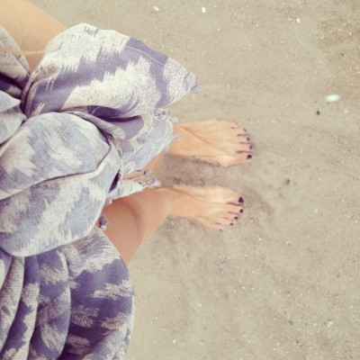 Salty feets? #beach #ocean #huahin (Taken with Instagram)