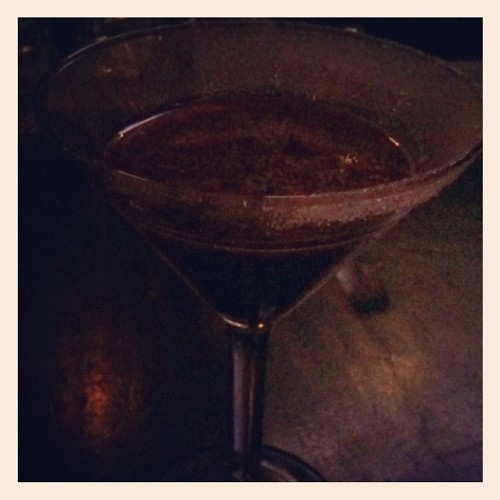 A toast to Olive returning (Taken with Instagram at Blue Boar)
