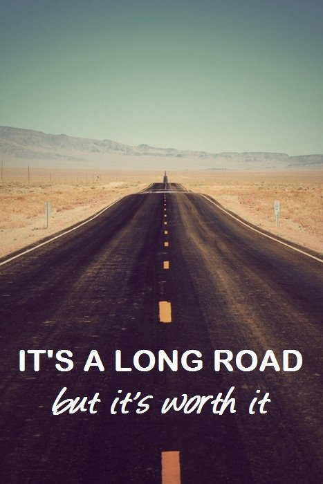 fitness-is-sexy-hot:  its a long road but its worth it