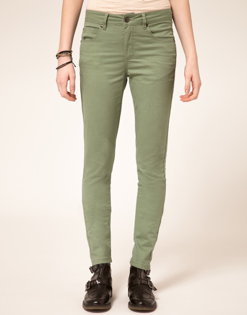 Selected Annie Twill Jeans In Skinny FitMore photos & another fashion brands: bit.ly/LtINXm