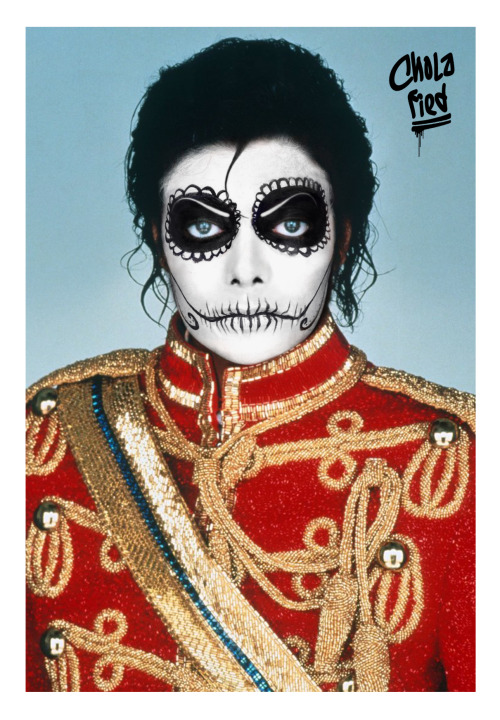 cholafied:  Chola MJ aka RIP La Nariz