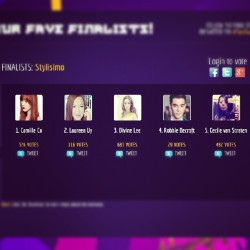 Stylisimo finalists: @itscamilleco @laureenmuy @DivinemLee @robbiebecroft @chuvaness #TattAwards  (Taken with Instagram)